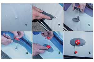 Inflatable Boat Repair for Damaged, Punctured, and Faded Hulls