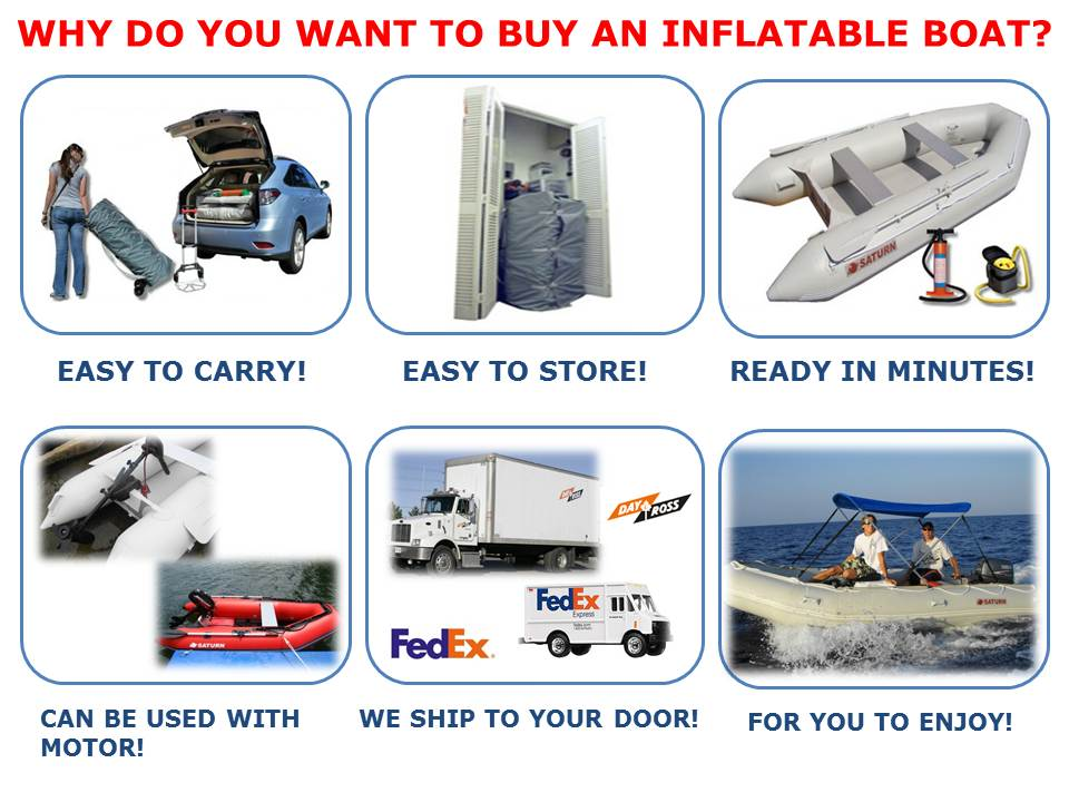 Why do you want to buy an inflatable boat?