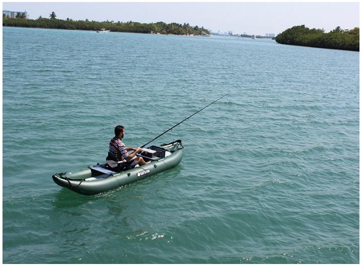 Inflatable kayaks 13 39 ocean fishing kayak 13 39 ocean for Ocean kayak fishing