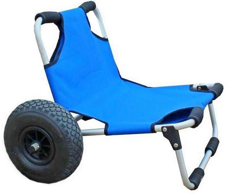 Vanhunks Kayak Foldable Beach Cart With Inflatable Wheels