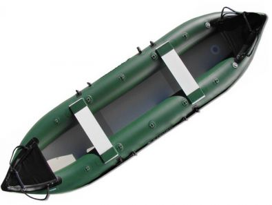 Inflatable Fishing Kayak Green FK430