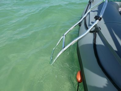 Inflatable Boat Swimming Ladder